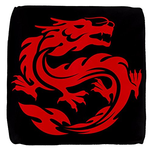 13-Inch-6-Sided-Cube-Ottoman-Tribal-Red-Dragon-0