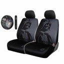 5-pc-Star-Wars-Darth-Vader-Black-Front-Seat-Covers-Steering-Wheel-Cover-Set-0