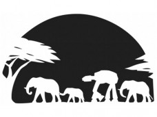 AT-AT-Elephants-Vinyl-Decal-0