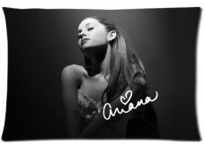 American-actresssinger-and-songwriter-Ariana-Grande-20x30-inches-Double-sided-Printing-Zippered-Pillow-Cover-Case-By-Cinderella-Magic-0
