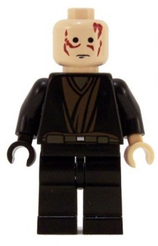 Anakin-Skywalker-Black-Hand-No-Hair-LEGO-Star-Wars-Figure-0