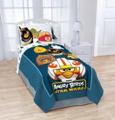 Angry-Birds-Star-Wars-Horizon-Fleece-Bed-Blanket-0