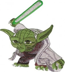 Application-Star-Wars-Clone-Wars-Yoda-Lightsaber-Patch-0
