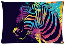 Beautiful-Zebra-Animals-Style-Pillowcase-Cover-20x30-one-side-Cotton-Pillow-Case-18-Pattern-0