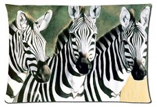 Beautiful-Zebra-Animals-Style-Pillowcase-Cover-20x30-one-side-Cotton-Pillow-Case-19-Pattern-0