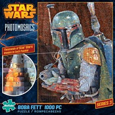 Buffalo-Games-Star-Wars-Photomosaic-Boba-Fett-Jigsaw-Puzzle-1000-Piece-0