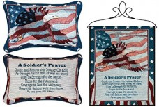 Bundle-of-Soldiers-Prayer-Tap-Bannerette-and-Reversible-Throw-Pillow-0