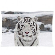 Buythecase-Unique-Fashion-Pillowcase-Design-White-Tiger-Size-20-X-30-inch-custom-pillow-casesone-side-print-Satin-fabric-0