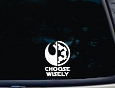 Choose-Wisely-3-34-x-5-14-die-cut-vinyl-decal-for-windows-cars-trucks-tool-boxes-laptops-MacBook-virtually-any-hard-smooth-surface-0