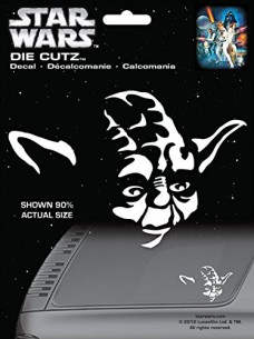 Chroma-3943-Star-Wars-Yoda-Die-Cutz-Decal-0