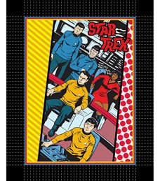 Classic-Star-Trek-Posse-No-Sew-Fleece-Throw-Blanket-0