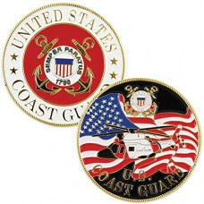 Coast-Guard-Military-Branch-Challenge-Coin-Colorized-with-Raised-Details-0