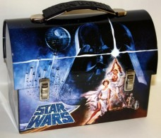 Collectable-Star-Wars-Darth-Vader-Tin-Dome-Lunch-Box-Workmans-Carry-All-Lunchbox-0