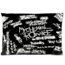 Custom-Music-Band-My-Chemical-Romance-Rectangle-One-Pillow-Case-20x30-one-side-Home-Decoration-Gift-Idea-0