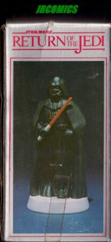 DARTH-VADER-Star-Wars-Return-of-the-Jedi-Hand-Painted-Bisque-Porcelain-Figurine-by-SIGMA-1983-0