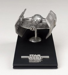 Darth-Vader-Tie-Fighter-Limited-Edition-Pewter-Figurine-0