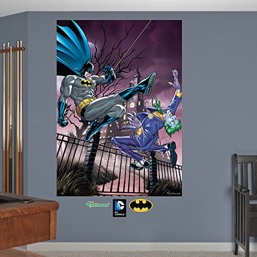 Fathead Batman and The Joker Battle Mural Vinyl Decals | On Star Wars