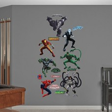 Fathead-Ultimate-Spider-Man-Villains-Collection-Real-Big-Wall-Decals-0