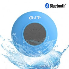 GJTWireless-Bluetooth-Waterproof-Shower-Speaker-30-Speaker-Mini-Water-Resistant-Wireless-Shower-Speaker-Handsfree-Portable-Speakerphone-with-Built-in-Mic-6hrs-of-playtime-Control-Buttons-and-Dedicated-0