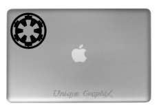 Galactic-Empire-Vinyl-Decal-Macbook-Laptop-Window-Stickers-Blackwhite-X2-0