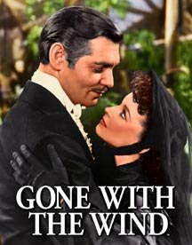 Gone-with-the-Wind-Movie-Rhett-Butler-and-Scarlett-OHara-Photo-Tin-Sign-0