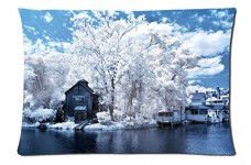 Harpers-Mill-Style-Pillowcase-Cover-20x30-one-side-Cotton-Pillow-Case-0