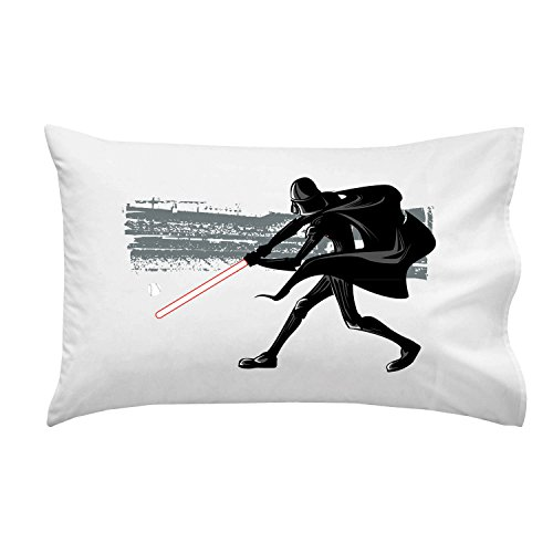 Home-Run-BAD-GUY-Playing-Baseball-w-Sword-Funny-Villain-Movie-Parody-Pillow-Case-Single-Pillowcase-0