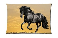 Horses-Running-Style-Pillowcase-Cover-20x30-one-side-Cotton-Pillow-Case-01-Pattern-0