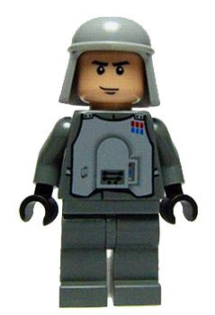 Imperial Officer Hoth Lego Star Wars Minifigure On Star Wars
