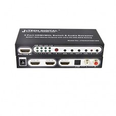 J-Tech-Digital--HDMI-14-Switch-Switcher-Box-Selector-3-In-1-Out-HDMI-Audio-Extractor-Splitter-with-Optical-SPDIF-RCA-LR-Audio-Out-Remote-Control-Supports-ARC-MHL-Ultra-HD-Full-3D-4kx2k-1080P-0