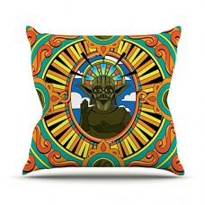 Kess-InHouse-Roberlan-Darth-Yoda-Star-Wars-Throw-Pillow-16-by-16-Inch-0