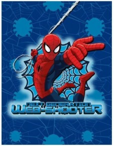 Kids-Characters-Silk-Touch-Throw-46-x-60-Spiderman-0