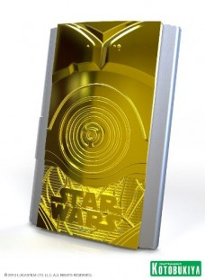 Kotobukiya-Star-Wars-C-3PO-Business-Card-Holder-0-0