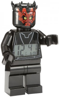 LEGO-9005596-Star-Wars-Darth-Maul-Minifigure-Clock-0