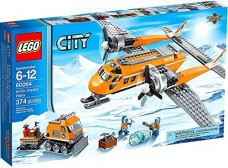 LEGO-City-Set-60064-Arctic-Supply-Plane-0