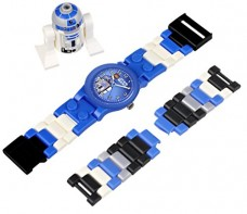 LEGO-Kids-9002915-Star-Wars-R2D2-Plastic-Watch-With-Minifigure-0