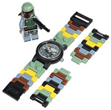 LEGO-Kids-9003363-Star-Wars-Boba-Fett-Watch-With-Minifigure-0