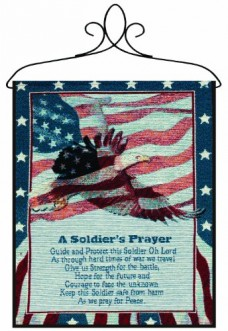 Manual-Patriotic-Wall-Hanging-with-Frame-A-Soldiers-Prayer-13-X-18-Inch-0