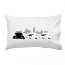 On-The-Road-Funny-Space-Movie-Parody-Motorcade-Pillow-Case-Single-Pillowcase-0