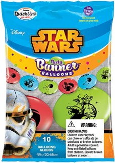 Party-Banner-Balloons-10-Count-Star-Wars-QuickLink-Banner-Balloons-12-Inch-0