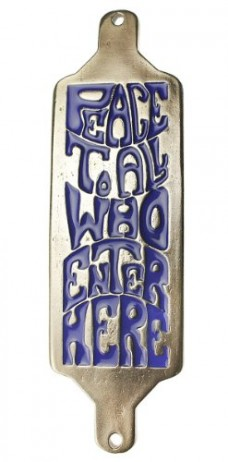 Peace-To-All-Who-Enter-Here-House-Blessing-Blue-Enamel-0