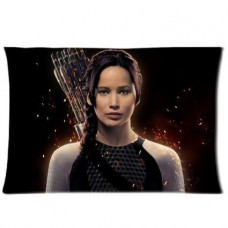 Perfect-Arts-Hot-Movie-The-Hunger-Games-Katniss-Everdeen-Unique-Custom-Zippered-Pillow-Cases-20x30-Inches-Two-sides-0