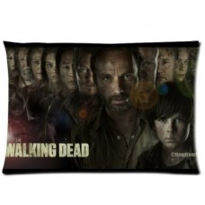 Perfect-Arts-Hot-Series-Walking-Dead-Unique-Custom-Zippered-Pillow-Cases-20x30-Inches-Two-sides-0