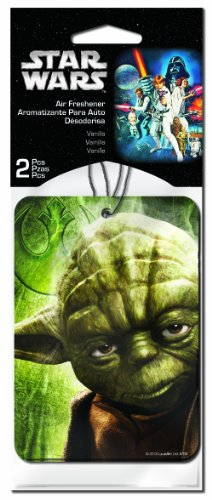 Plasticolor-005505R01-Star-Wars-Yoda-Air-Freshener-Pack-of-2-0