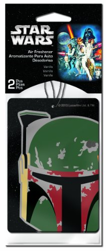 Plasticolor-005544R01-Star-Wars-Boba-Fett-Air-Freshener-Pack-of-2-0