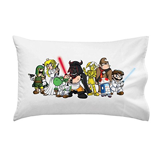 Plumbing-Wars-Group-All-Characters-Funny-Video-Game-Space-Movie-Parody-Pillow-Case-Single-Pillowcase-0
