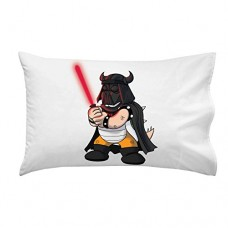 Plumbing-Wars-Helmet-Villain-Character-Funny-Video-Game-Space-Movie-Parody-Pillow-Case-Single-Pillowcase-0