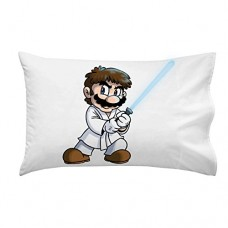 Plumbing-Wars-Main-Hero-Character-Funny-Video-Game-Space-Movie-Parody-Pillow-Case-Single-Pillowcase-0