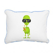 Rectangular-Canvas-Throw-Pillow-Caribbean-Blue-Little-Green-Alien-Sipping-a-Drink-0