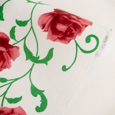 Rose-Vine-Vinyl-Self-Adhesive-Wallpaper-Prepasted-Wall-stickers-Wall-Decor-Roll-0